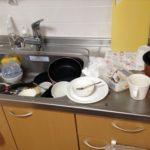 汚台所のリセット実況中継!愛用のペーパーと洗剤でシンクもピカピカ