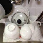 キッチンの断捨離!水切りカゴ無しでたくさんの食器を乾かす方法とは
