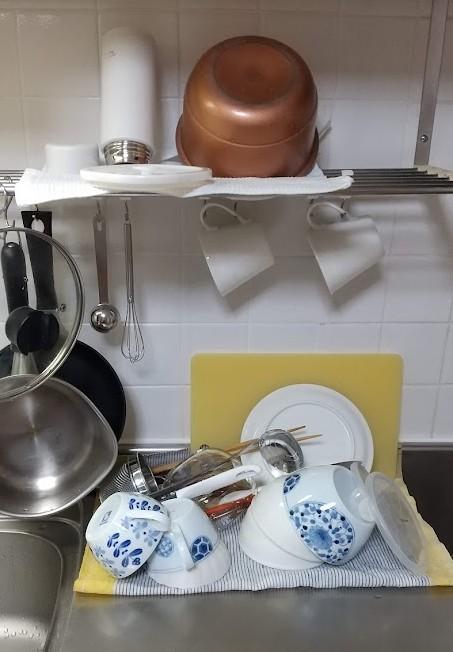 キッチンの水切り